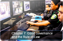 Good Governance and the Rule of Law