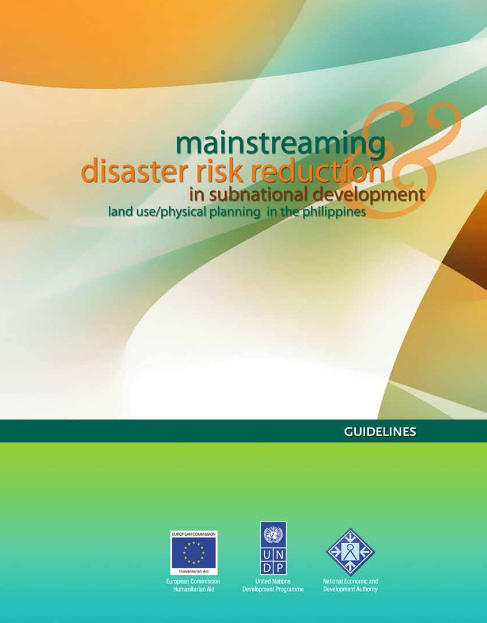 Guidelines on Mainstreaming DRR in Development