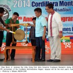 Cordillera Unity Gong Relay