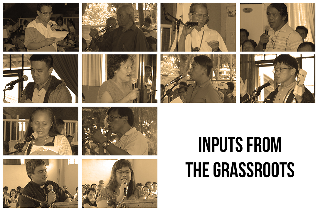 Inputs from the Grassroots