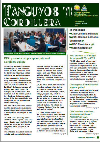 RDC-CAR Newsletter